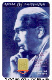telephone card, front
